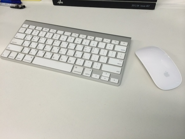 Apple wireless mouse and keyboard